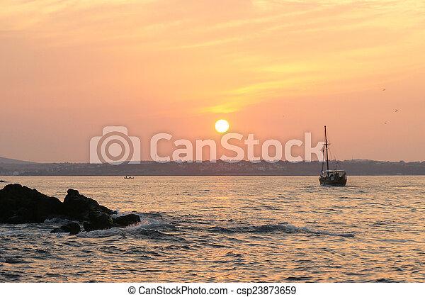 sunset - 3 - csp23873659