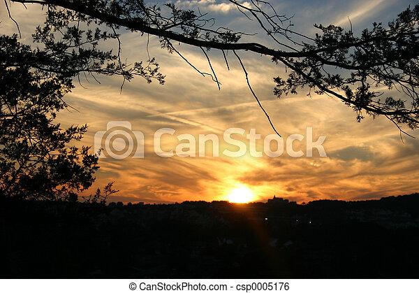 Sunset 5 - csp0005176