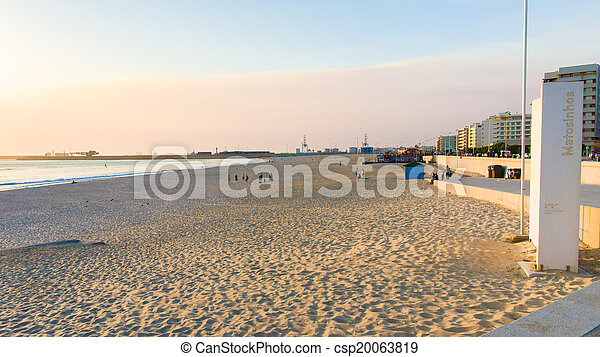 Sunset at the Beach - csp20063819