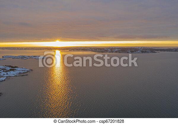 Sunset at the sea - csp67201828