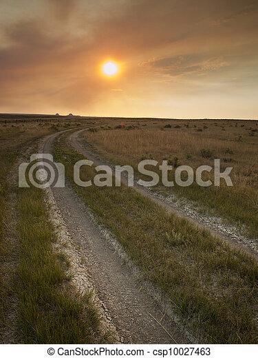 Sunset in Prairie - csp10027463