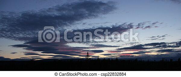 Sunset In Sweden - csp22832884