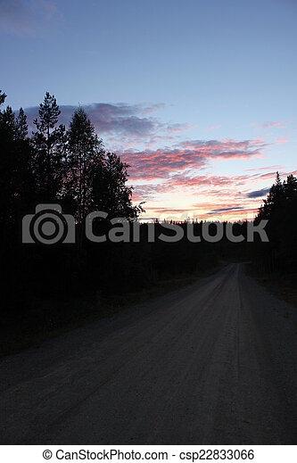 Sunset In Sweden - csp22833066