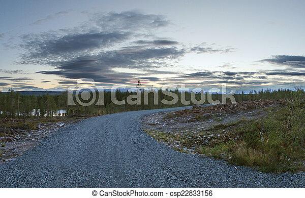 Sunset In Sweden - csp22833156
