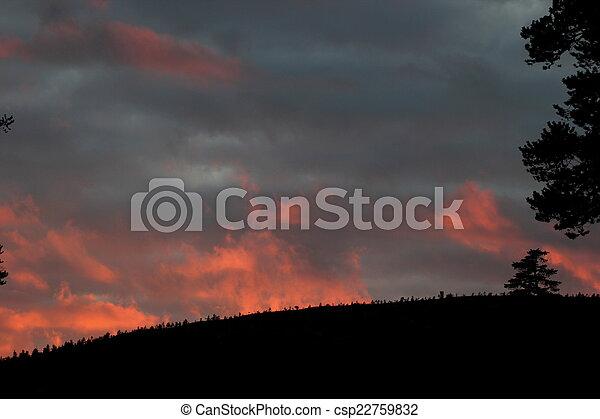 Sunset In Sweden - csp22759832