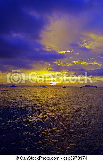 Sunset In The Beach - csp8978374