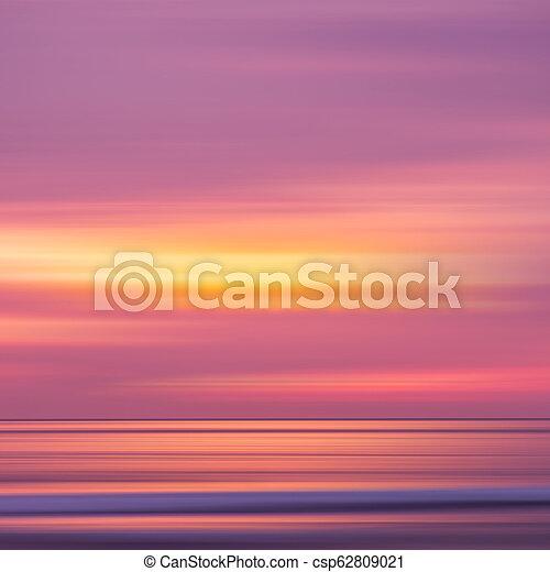sunset in the Ocean - csp62809021