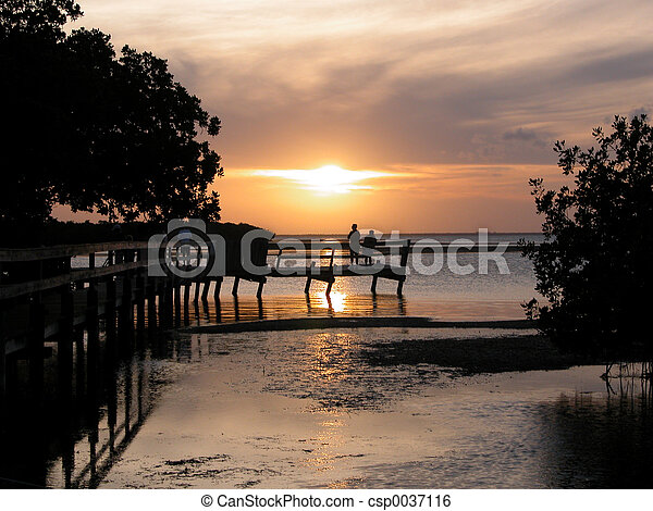 Sunset Key West Fl. - csp0037116