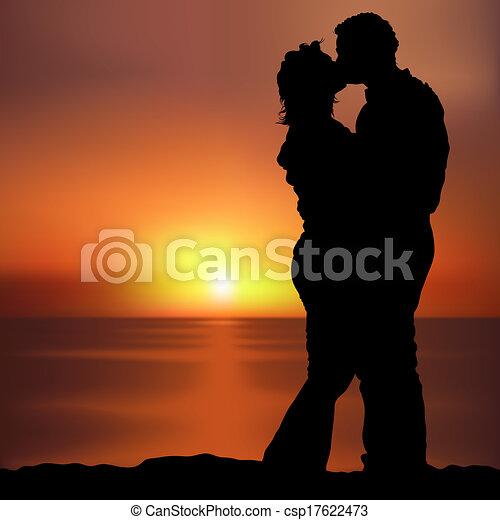 Sunset Lovers - csp17622473