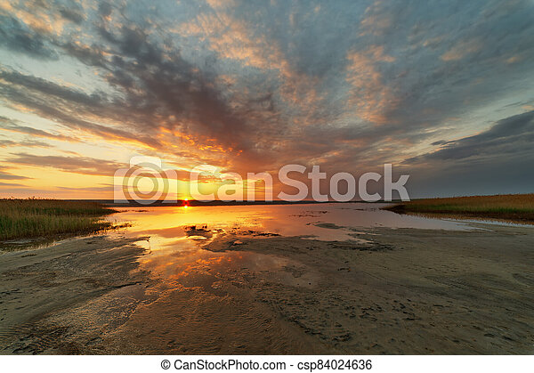 Sunset on the firth - csp84024636