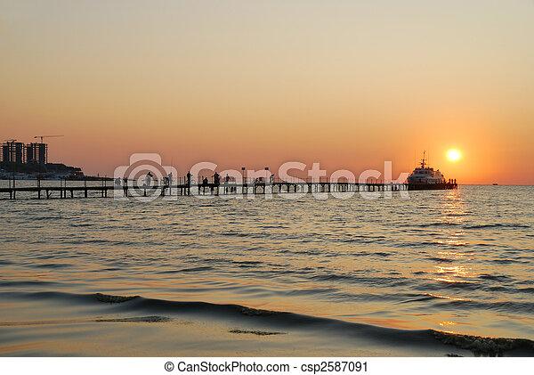 Sunset - csp2587091