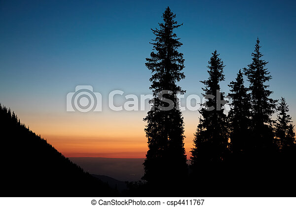 Sunset - csp4411767
