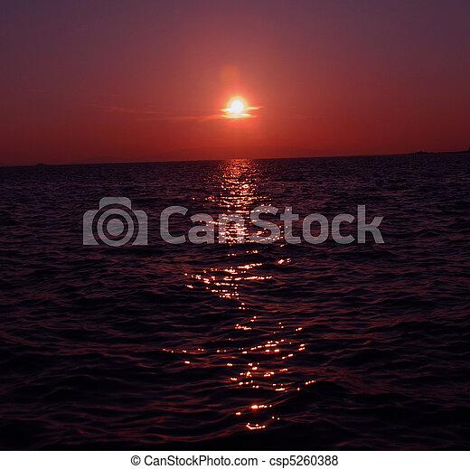 sunset - csp5260388