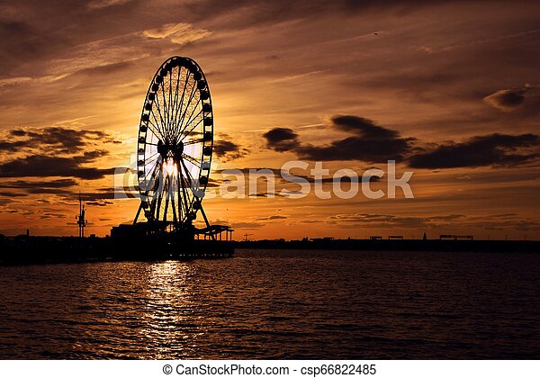 Sunset - csp66822485