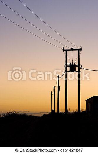 sunset power wires - csp1424847
