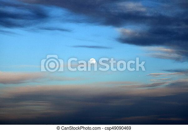 Sunset - csp49090469