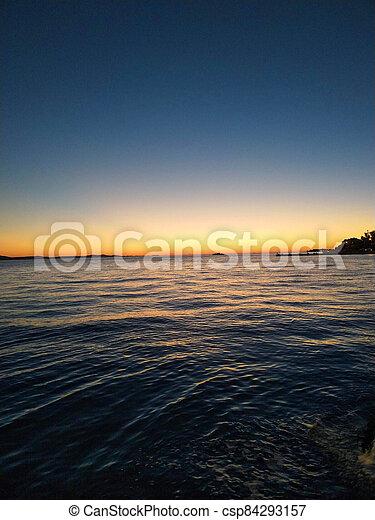 sunset - csp84293157