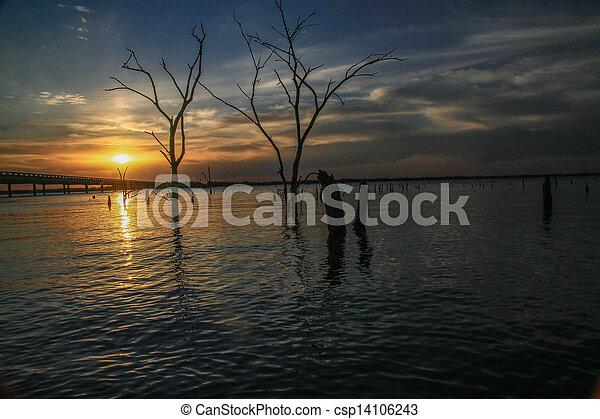 sunset - csp14106243