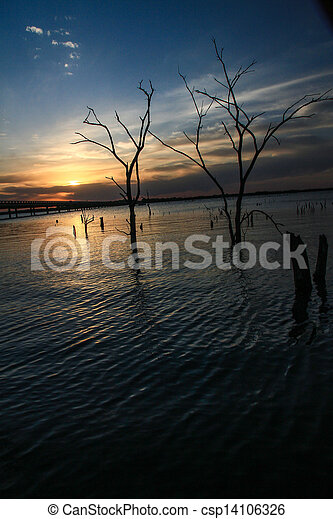 sunset - csp14106326