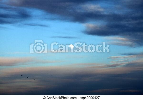 Sunset - csp49090427