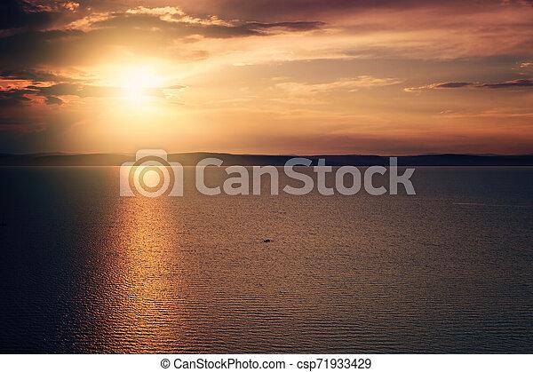 Sunset - csp71933429