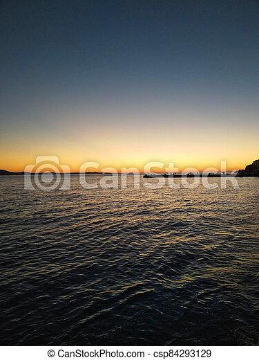 sunset - csp84293129