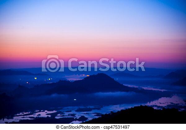 sunset - csp47531497