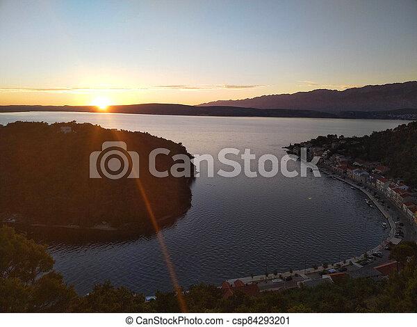 sunset - csp84293201