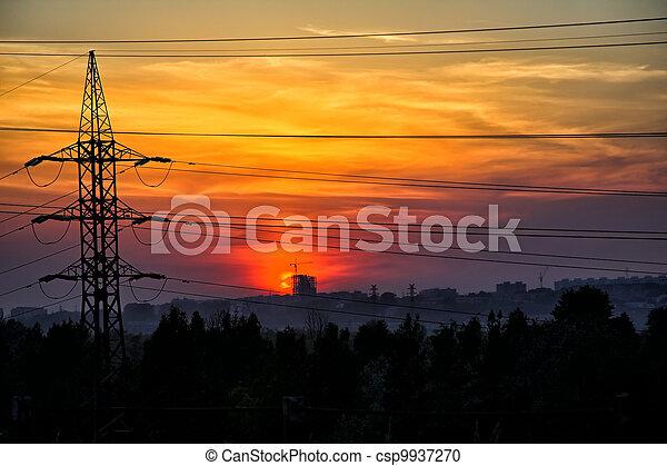 sunset - csp9937270
