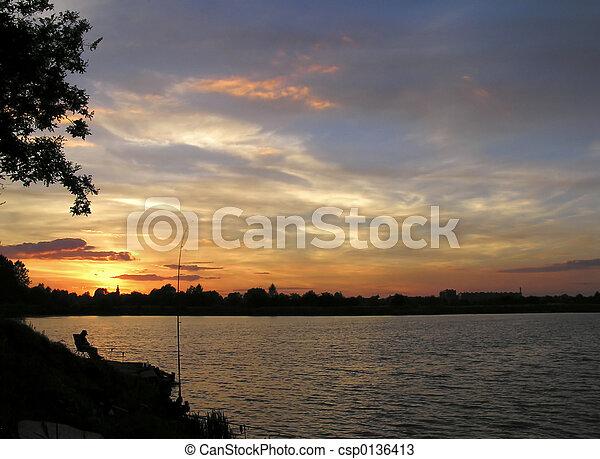 Sunset - csp0136413