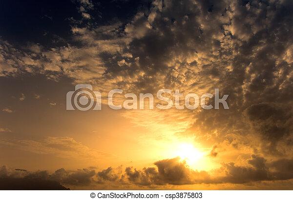 Sunset - csp3875803