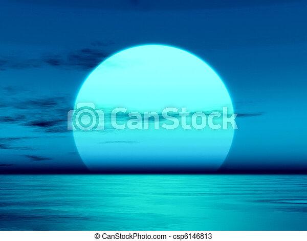 sunset - csp6146813