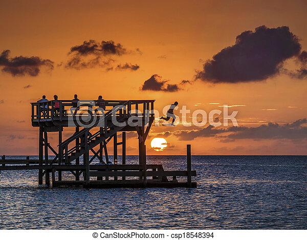 Sunset watch - csp18548394