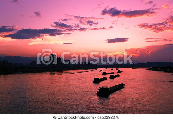 Sunsets - csp2392278