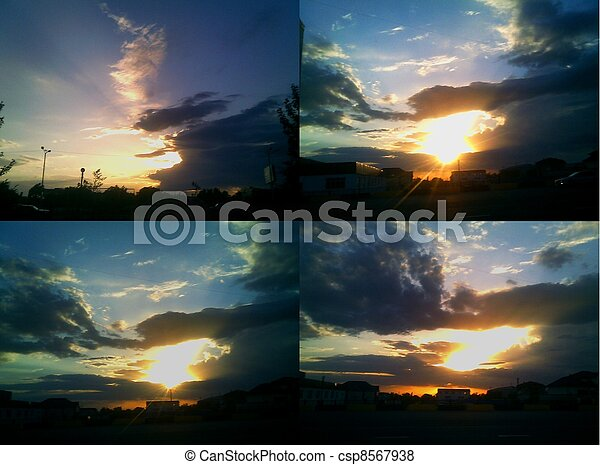 sunsets - csp8567938
