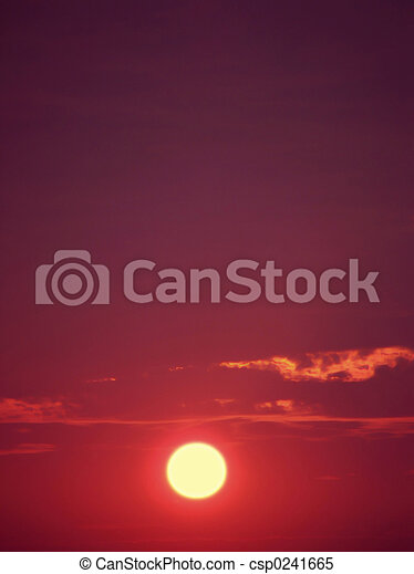 Sunsets - csp0241665