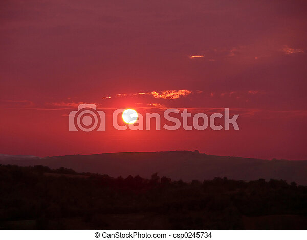 Sunsets - csp0245734