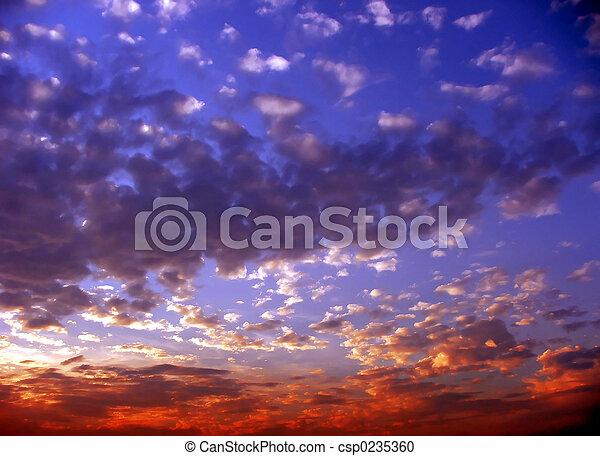 Sunsets - csp0235360