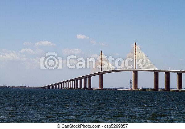 Sunshine Skyway Bridge - csp5269857