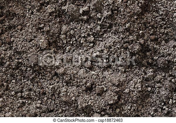 suolo, fondo, struttura, sporcizia - csp18872463
