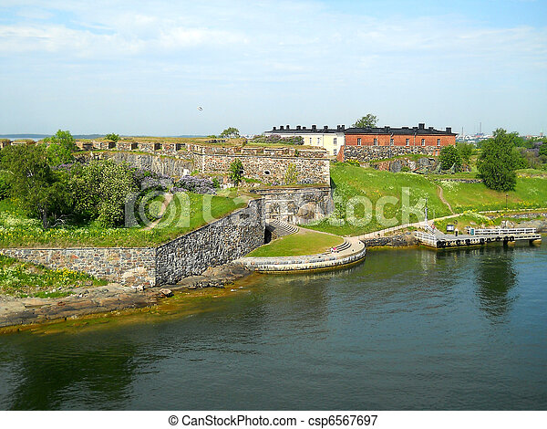 Suomenlinna sea fortress - csp6567697