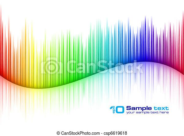 suono, forma onda - csp6619618