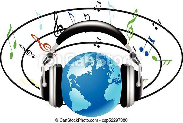 suono, internazionale, musica - csp52297380