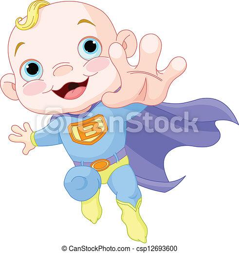 Super Baby Boy - csp12693600