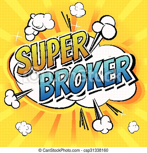 Super Broker - csp31338160
