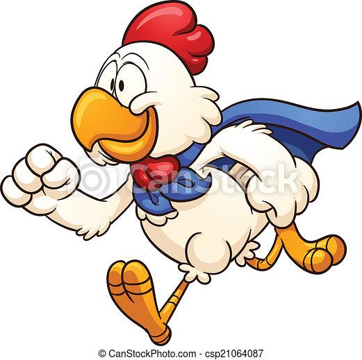 Super chicken - csp21064087