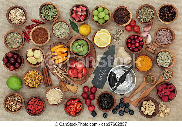 Super Food for Cold and Flu Remedy - csp37662837