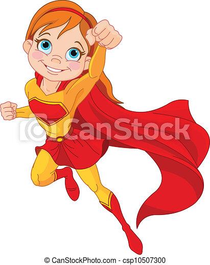Super  Girl - csp10507300