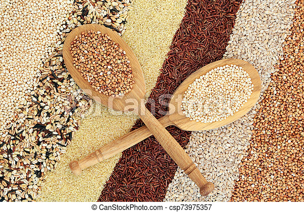 Super Grain Health Food - csp73975357