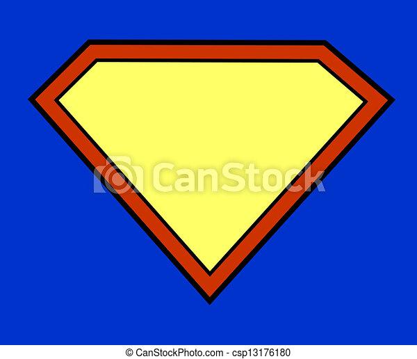 Super hero background - csp13176180